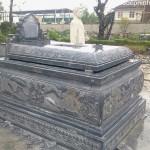 Mẫu mộ bành đá 008