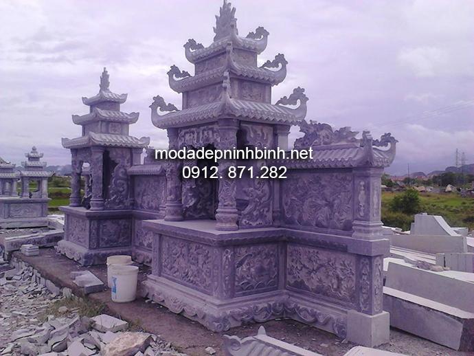 Mẫu lăng mộ đá đẹp 008