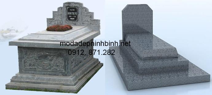 Mẫu mộ đá hoa cương đẹp 002
