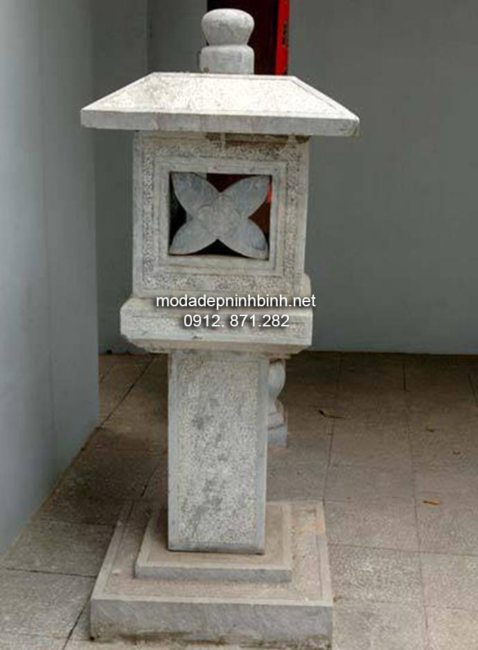 Mẫu đèn thờ đá đẹp 002