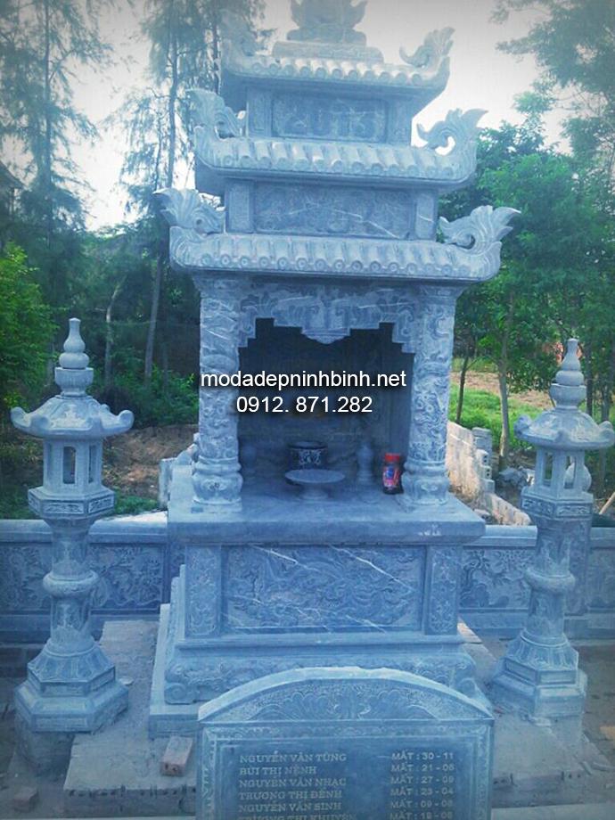Mẫu lăng mộ đá đẹp 003
