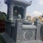 Mẫu mộ đá một mái đẹp 002