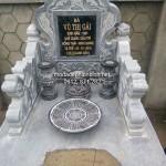 Mẫu mộ đá bành đẹp 003