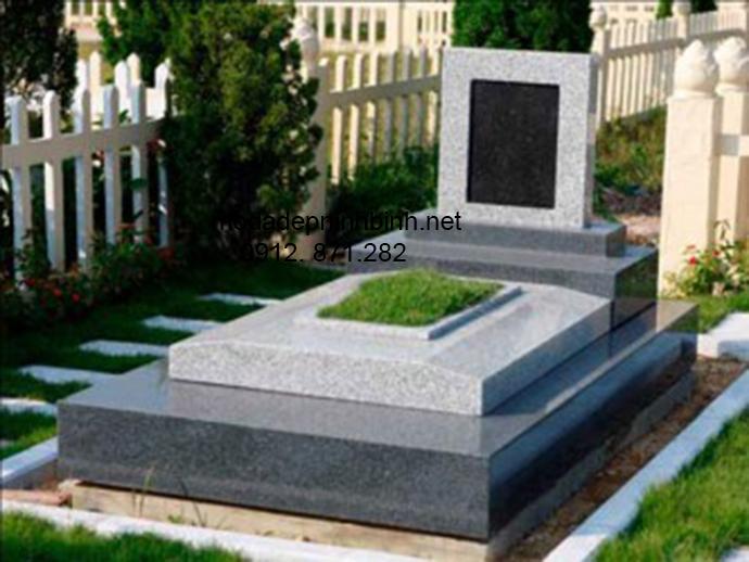 Mẫu mộ đá hoa cương đẹp 004