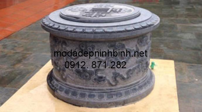 Mẫu mộ đá tròn đẹp 010
