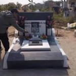Mẫu mộ đá granite đẹp 002