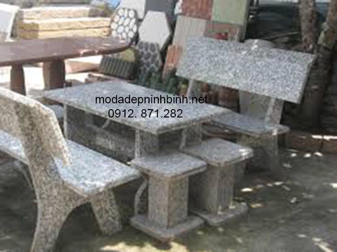 Mẫu ghế đá dẹp 008