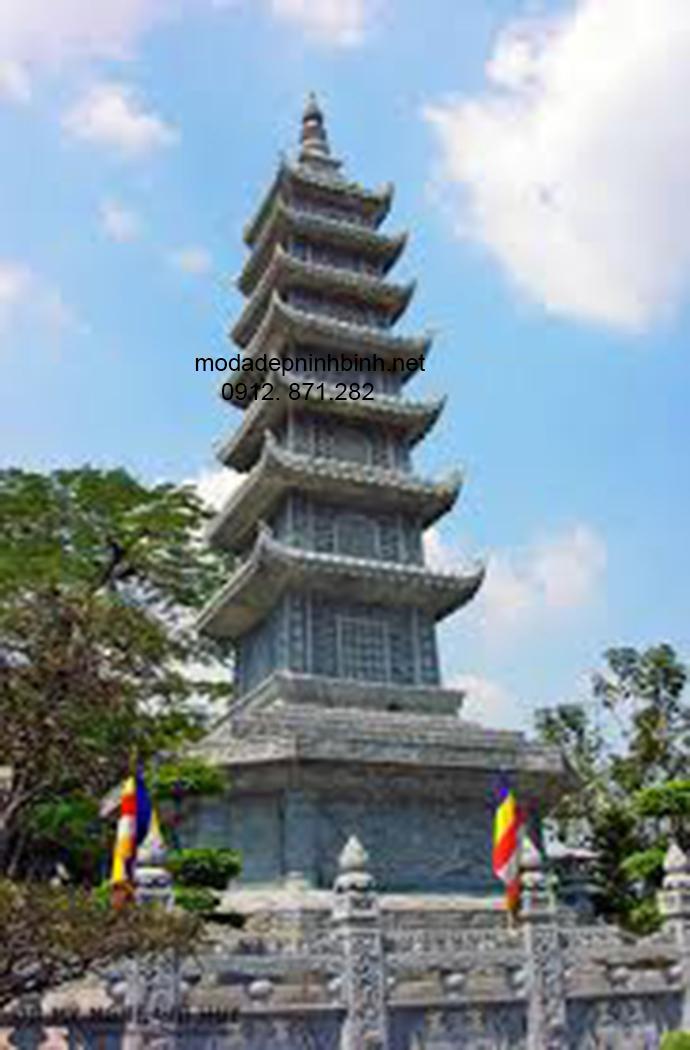 Mẫu mộ tháp đá đẹp 006