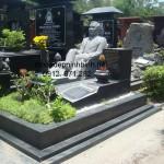 Mẫu mộ đá hoa cương đẹp 001