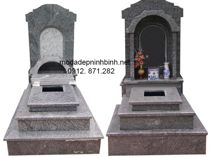 Mẫu mộ đá hoa cương đẹp 006