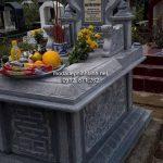 Mẫu mộ bành đá đẹp 005