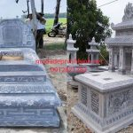 Một số mẫu lan can đá lăng mộ