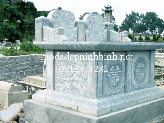 Những mẫu mộ bành đá đẹp