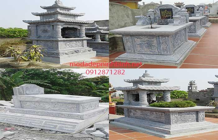 Những mẫu mộ đá Ninh Bình đẹp nhất 2016