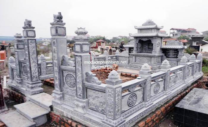 Mẫu mộ tổ bằng đá đẹp