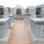 Mẫu mộ đá xanh đẹp mà lại hợp phong thủy