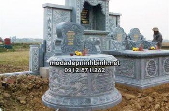 Tổng hợp mộ đá tròn Ninh Bình
