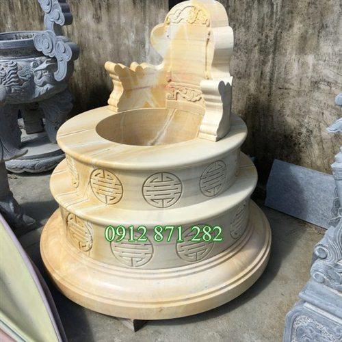 Mẫu mộ tròn đá