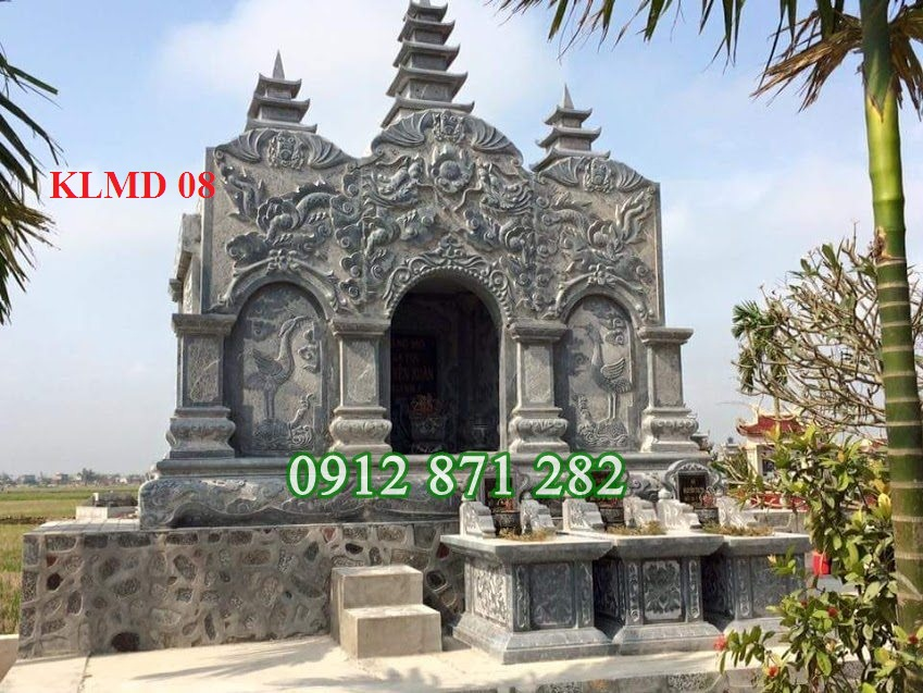 Khu lăng mộ gia đình đẹp