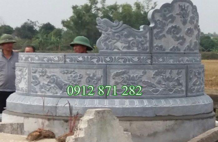 Giá mộ đá xanh,giá mộ đá, giá mộ tròn bằng đá, giá mộ đá tròn, giá mộ tròn, giá mộ đá khối;
