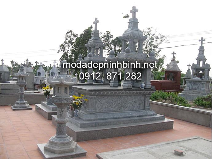 Mẫu mộ đá công giáo đẹp 010