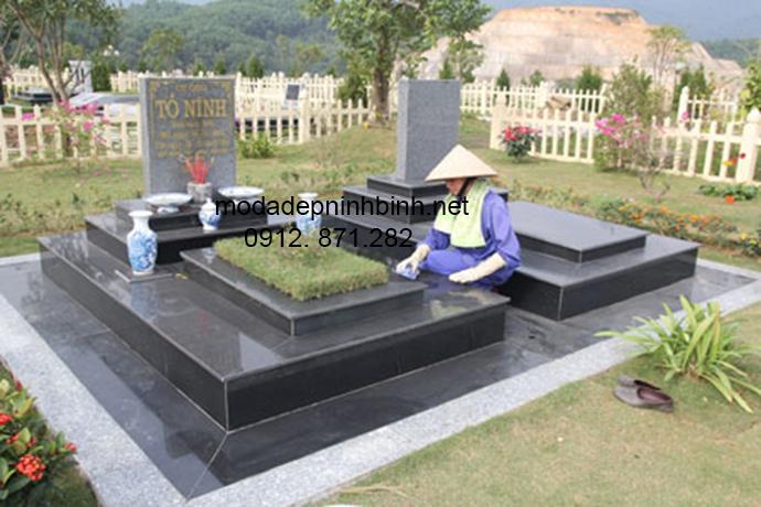 Mẫu mộ đá granite đẹp 003