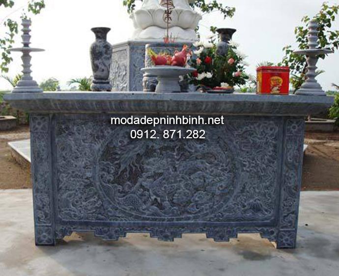 Mẫu bàn lễ đá đẹp 003