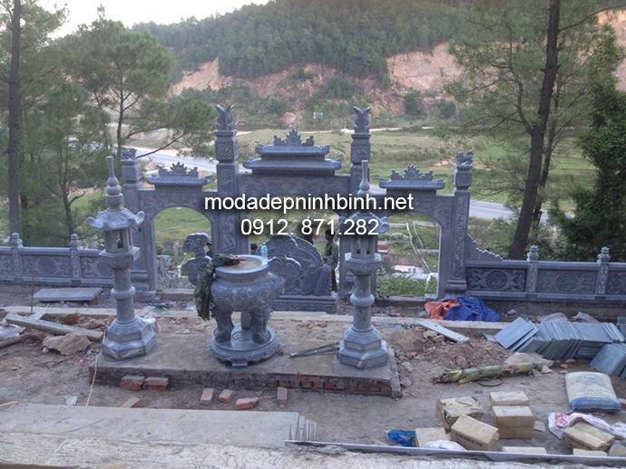 Mẫu lăng mộ đá đẹp 002