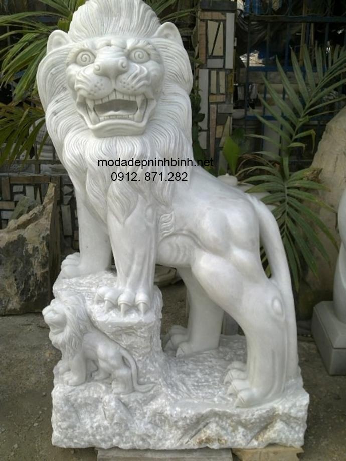 Mẫu sư tử đá đẹp 005