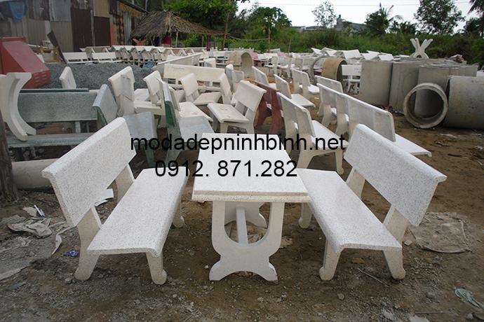 Mẫu ghế đá đẹp 006