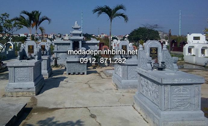 Mẫu mộ đá bành đẹp 002