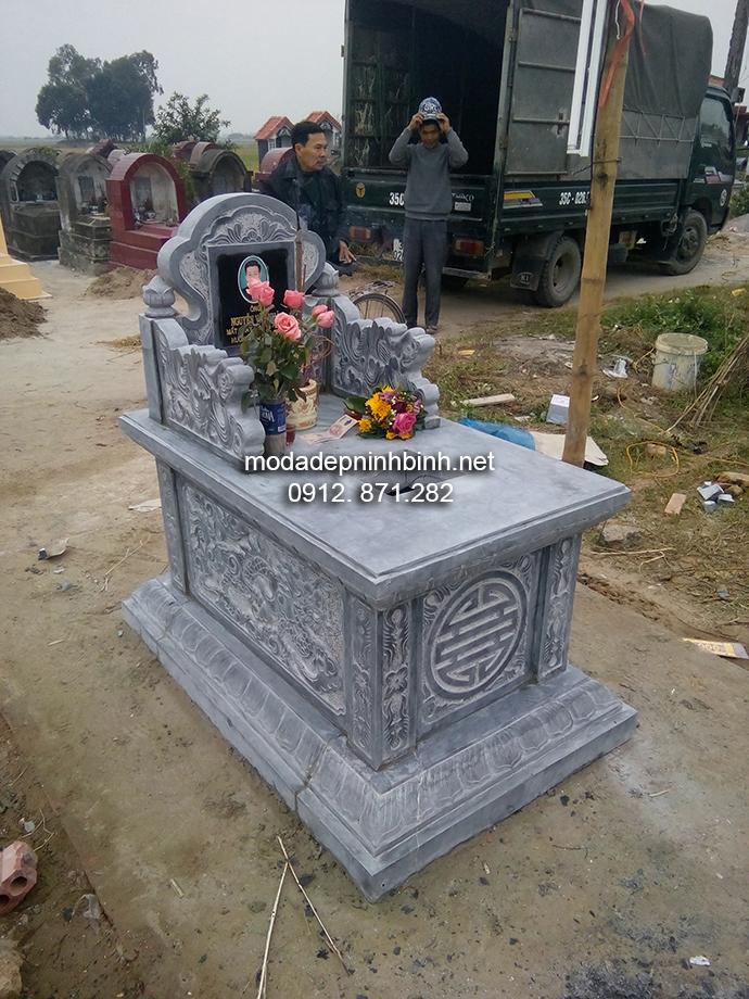 Mẫu mộ đá bành đẹp 004