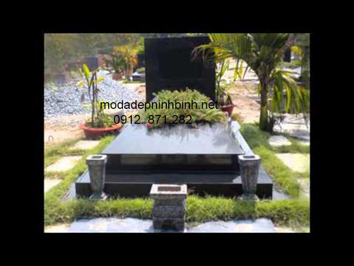 Mẫu mộ đá granite đẹp 004