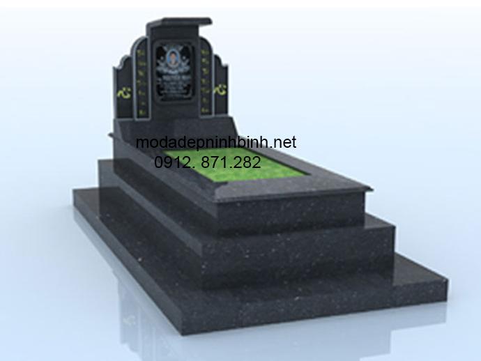 Mẫu mộ đá hoa cương đẹp 007