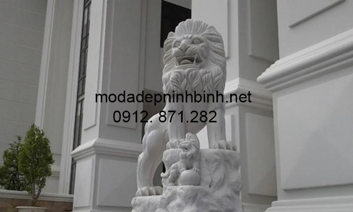 Mẫu sư tử đá đẹp 008