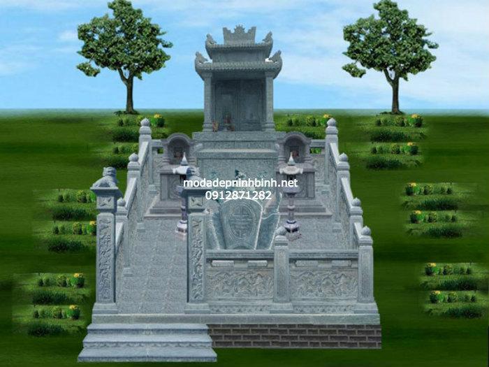 Bản vẽ thiết kế lăng mộ