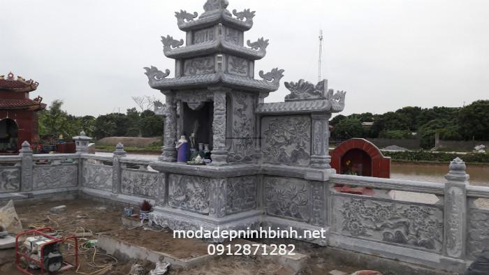 Mẫu lăng mộ đá Thanh Hóa đẹp