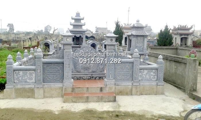 Xây dựng lăng mộ đá tại thái bình
