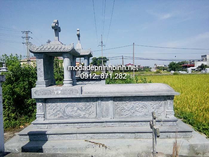 Các mẫu mộ đá công giáo đẹp