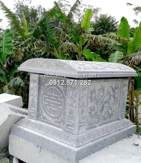 mẫu mộ xây đơn giản 1