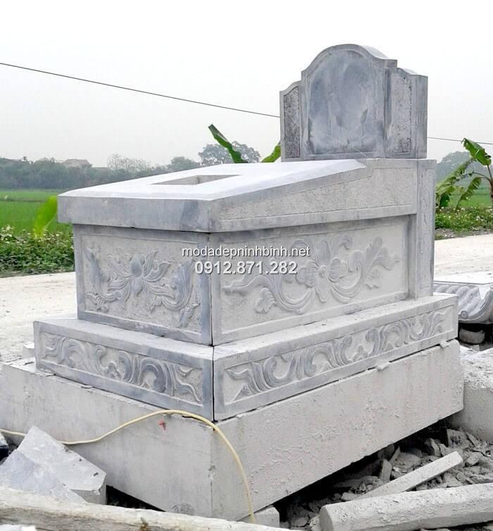 mẫu mộ xây đơn giản