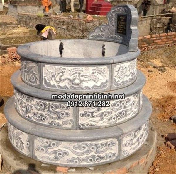 Mẫu mộ tròn đẹp