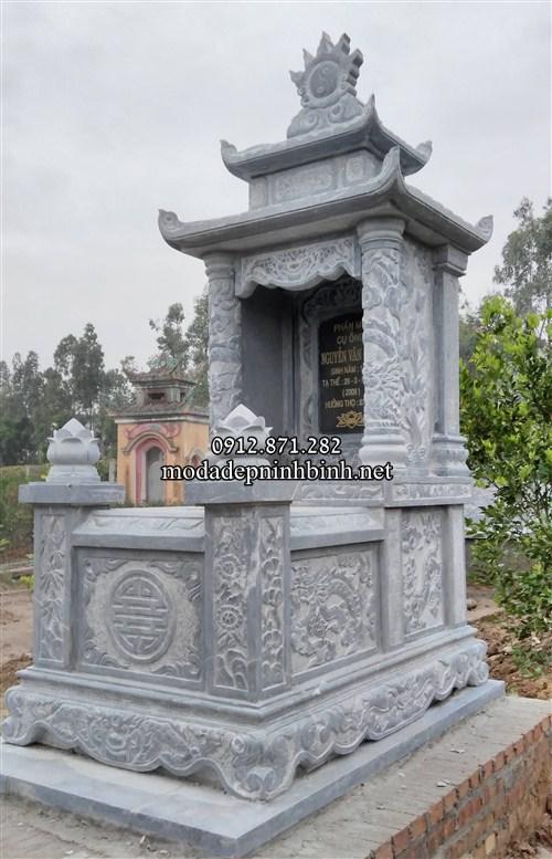 Những ngôi mộ đá hai mái đẹp