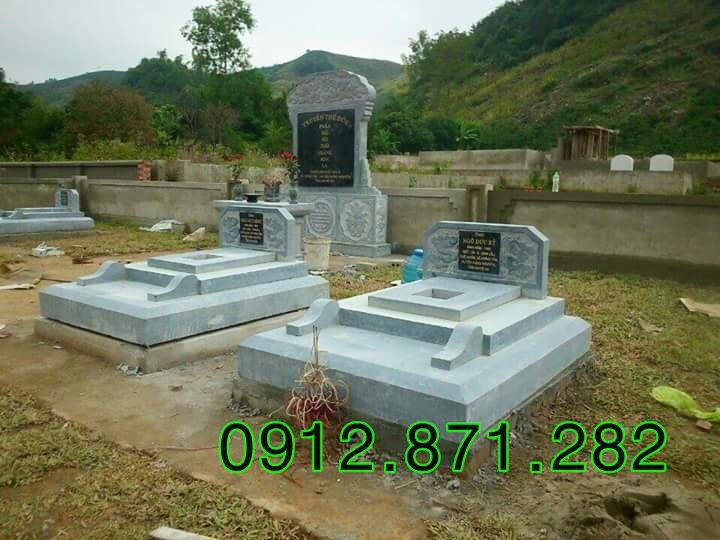Kích thước cấu tạo mộ không mái