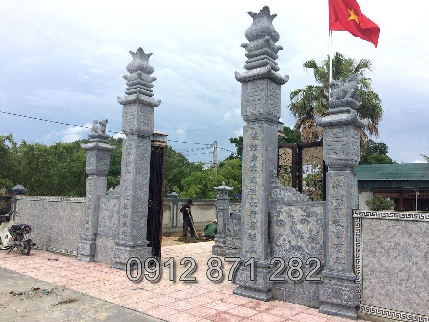 Các mẫu cổng nhà thờ họ đẹp 2