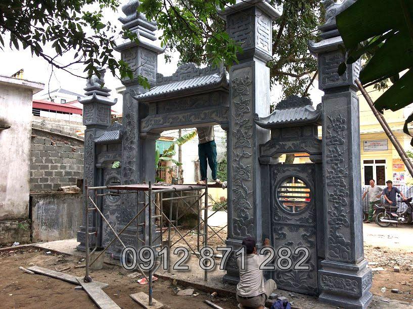 Cổng nhà thờ tộc đẹp 2