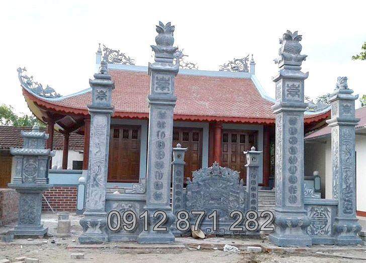cổng nhà từ đường đẹp 1