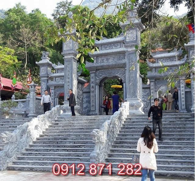 Mẫu cổng chùa đẹp 1