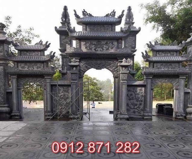 Mẫu cổng chùa đẹp 2