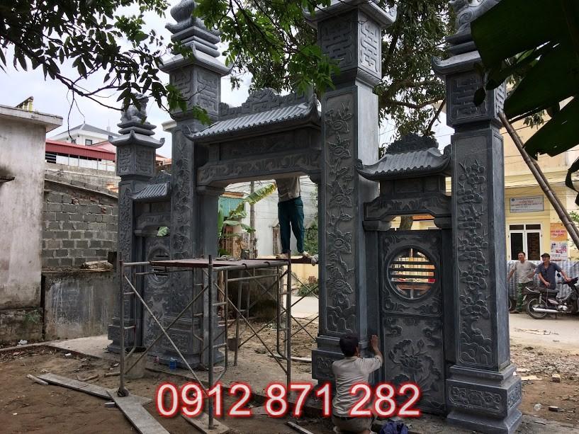 Mẫu cổng đình làng đẹp 2